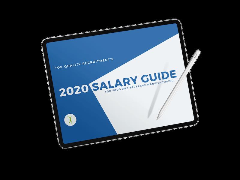 TQR 2020 Salary Guide Download - Apple iPad Pro 2019 Mockup